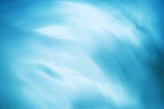 Horizontale zerknitterte blaue Büropapierbeschaffenheit Stockbilder