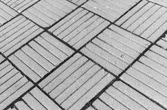 Horizontale zwarte de tegelachtergrond van de advertentie witte diagonale stad Royalty-vrije Stock Foto's