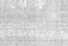 Horizontaler Schwarzweiss-Pixellabyrinth-Illustrationshintergrund Lizenzfreie Stockbilder