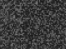 Horizontaler Schwarzweiss-Textsymbol-Illustrationshintergrund Stockbild