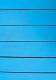 Horizontales Blau verschalt Hintergrund Stockbild