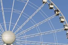 Horizontales Detail des Riesenrads Stockfotografie