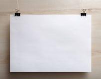 Horizontales Plakat Lizenzfreie Stockfotografie
