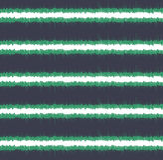 Horizontales Streifenmuster des nahtlosen Gekritzels Stockfoto