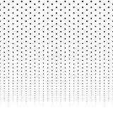 Horizontally repeatable halftone background / pattern fading fro royalty free illustration