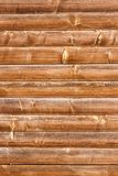 Horizontally tiled stained wood wall texture background.  Royalty Free Stock Photo