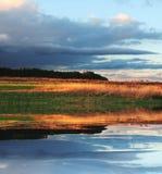 Horizontaux d'automne Photographie stock libre de droits