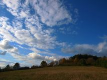 Horizontaux d'automne Image stock