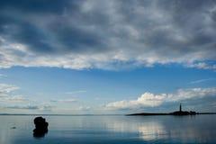 Horizontaux d'océan de la photo series1-The. Photos stock
