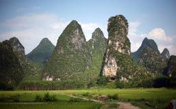 Horizontaux de Guilin photos libres de droits