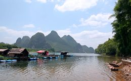 horizontaux de guilin Images stock
