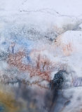 Horizontaux de l'hiver Photos libres de droits