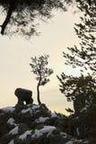 Horizontaux de montagne Images libres de droits