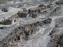 Horizontaux de montagne du Bornéo Photographie stock