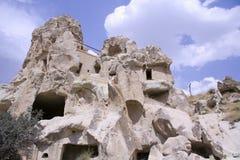 Horizontaux de roche de Cappadocia photos stock