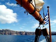 Horizontaux de Santorini Photographie stock