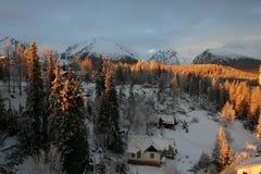 Horizontaux en Slovaquie photo stock