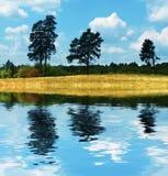 Horizontaux ruraux d'automne image libre de droits