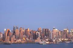 Horizonte 1 de NYC Fotos de archivo libres de regalías