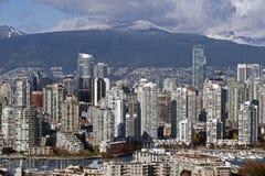 Horizonte 2012 de Vancouver Fotografía de archivo libre de regalías