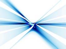 Horizonte azul que estica fora à infinidade Imagens de Stock Royalty Free