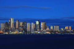 Horizonte Boston Imagen de archivo libre de regalías