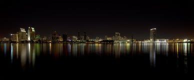 Horizonte céntrico de San Diego Imagen de archivo