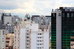 Horizonte céntrico de Sao Paulo Foto de archivo
