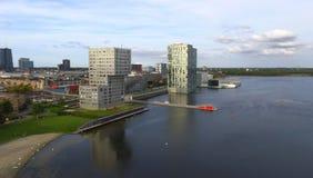 Horizonte de Almere Imágenes de archivo libres de regalías