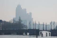 Horizonte de Amsterdam Imagenes de archivo