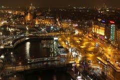 Horizonte de Amsterdam Fotos de archivo