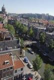 Horizonte de Amsterdam Fotografía de archivo