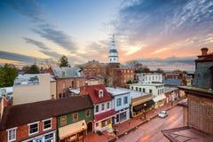 Horizonte de Annapolis Fotos de archivo