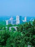 Horizonte de Asheville imagen de archivo libre de regalías