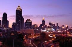 Horizonte de Atlanta Imagenes de archivo