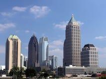 Horizonte de Atlanta del Midtown fotografía de archivo