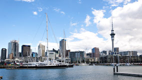 Horizonte de Auckland Imagen de archivo libre de regalías