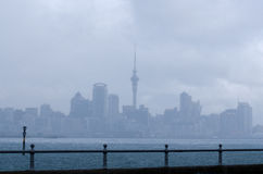 Horizonte de Auckland Fotografía de archivo libre de regalías