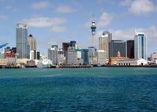 Horizonte de Auckland Imágenes de archivo libres de regalías