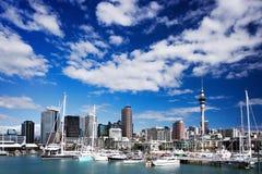 Horizonte de Auckland Fotos de archivo libres de regalías