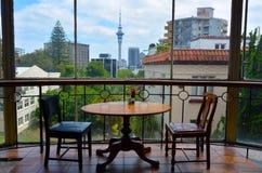 Horizonte de Auckland CBD Foto de archivo libre de regalías