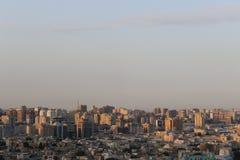 Horizonte de Baku Foto de archivo