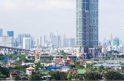 Horizonte de Bangkok Imágenes de archivo libres de regalías