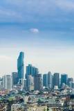 horizonte de Bangkok del paisaje urbano, Tailandia Bangkok es metrópoli y f Foto de archivo