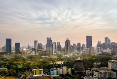 Horizonte de Bangkok, paisaje urbano Imagen de archivo libre de regalías