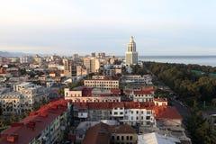 Horizonte de Batumi Fotografía de archivo libre de regalías