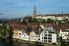 Horizonte de Berna, Suiza Imagenes de archivo