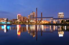 Horizonte de Birmingham, Alabama Fotografía de archivo libre de regalías