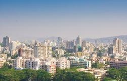 Horizonte de Bombay Foto de archivo libre de regalías