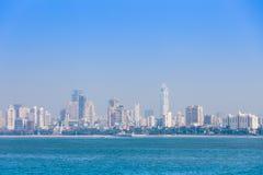 Horizonte de Bombay imagen de archivo